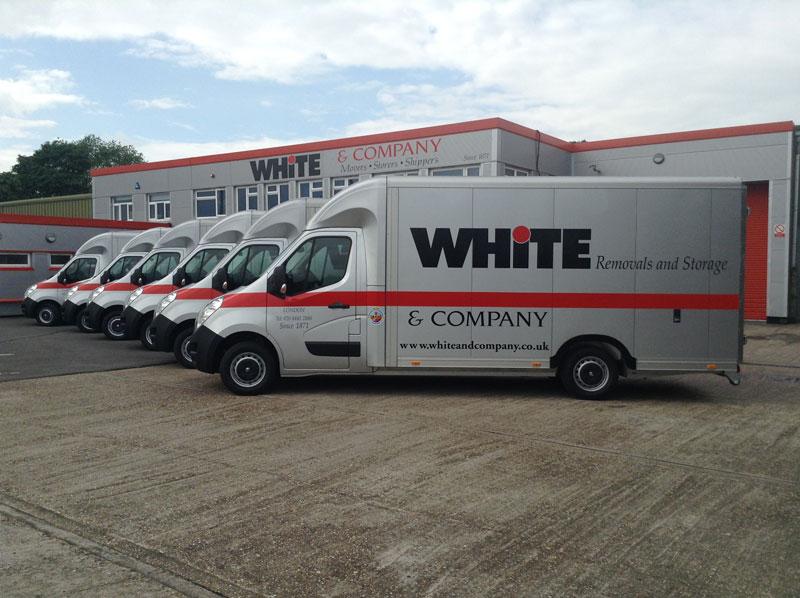 White & Company vans sold by Trucksmith